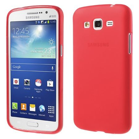 Samsung Galaxy Grand 2 Elastisches Plastik Case - rot
