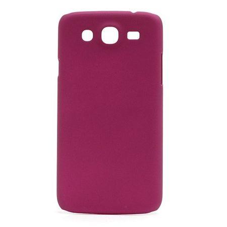 Samsung Galaxy Mega 5.8 Gummiertes Hart Plastik Case - rosa