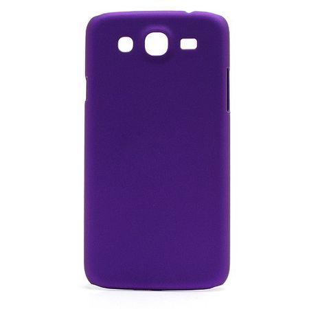 Samsung Galaxy Mega 5.8 Gummiertes Hart Plastik Case - purpur