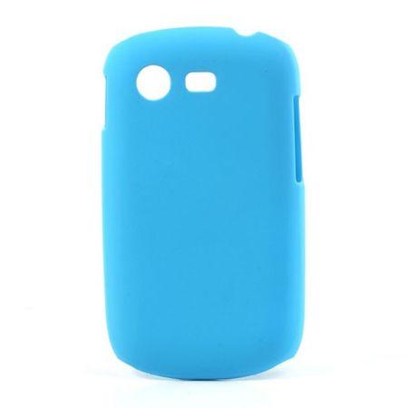 Samsung Galaxy Star Gummiertes Hart Plastik Case - hellblau