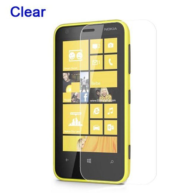 Nokia Lumia 620 Schutzfolie - klar