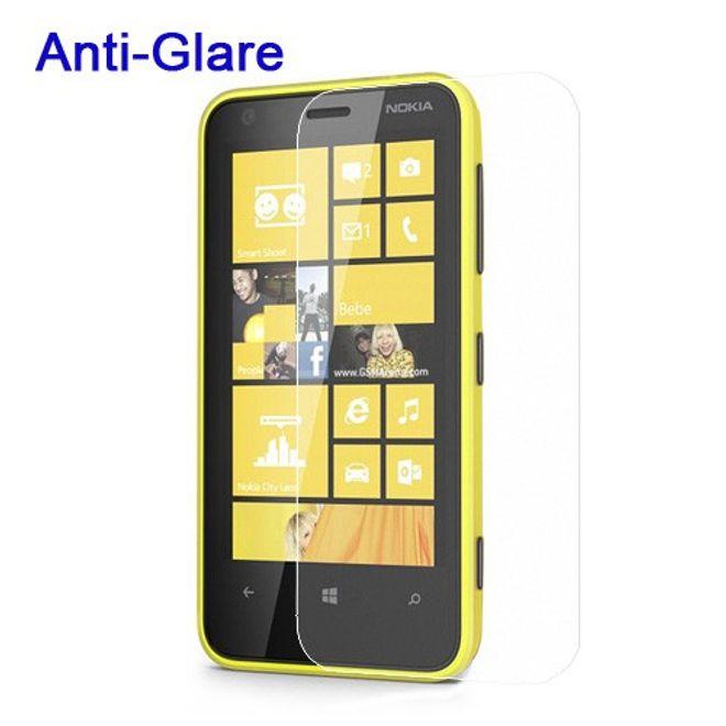 MU Budget Nokia Lumia 620 Schutzfolie mit Blendschutz