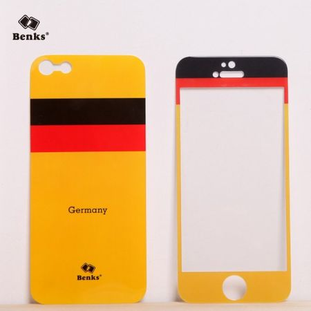 iPhone SE/5S/5 Full Body Sticker WM 2014 Deutschland Flagge