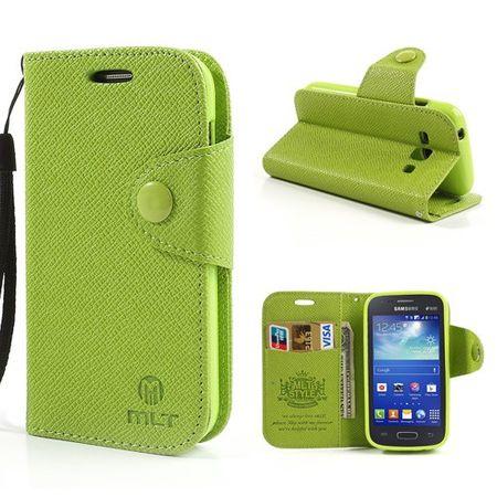Samsung Galaxy Ace 3 Leder Case - grün