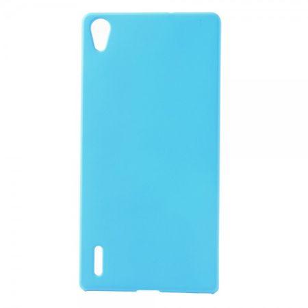 Huawei Ascend P7 Schlichtes Hart Plastik Case -  hellblau
