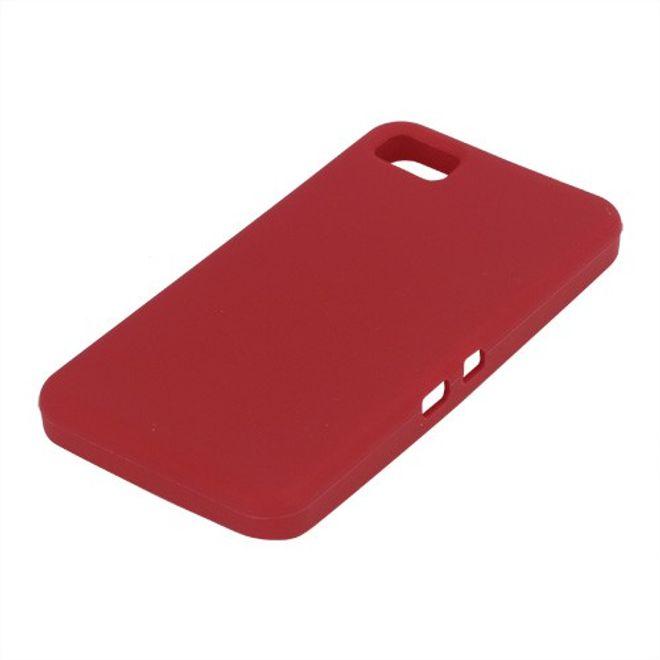 MU Classic BlackBerry Z10 Silikon Case - rot