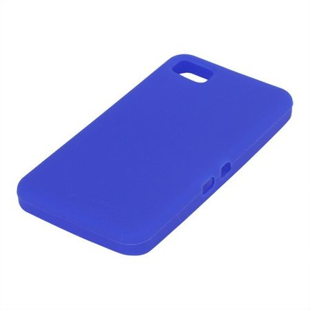 BlackBerry Z10 Silikon Case - dunkelblau