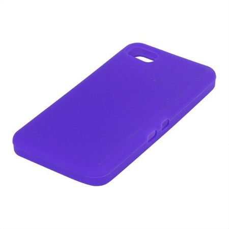 BlackBerry Z10 Silikon Case - purpur