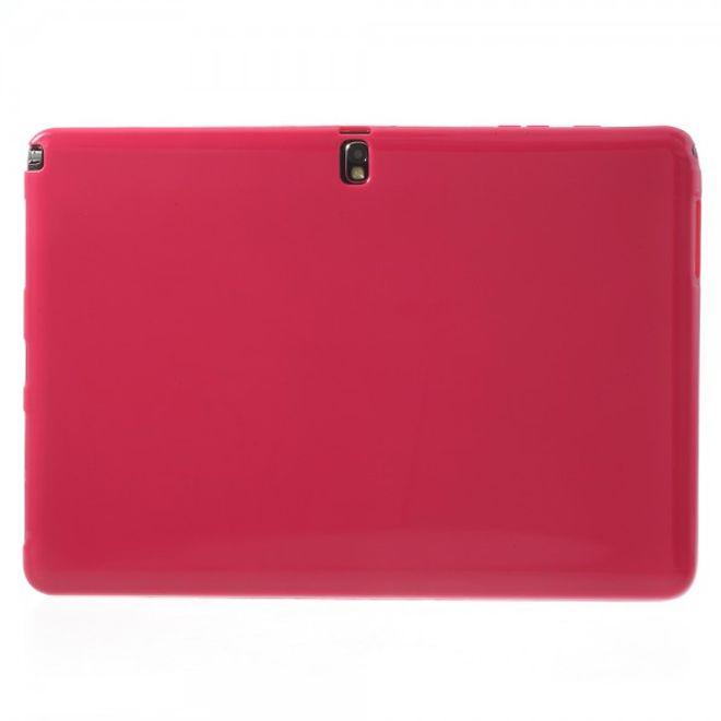 MU Classic Samsung Galaxy Note Pro 12.2 (P900/P905) Elastisches, mattes Plastik Case - rosa