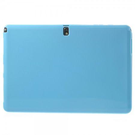 Samsung Galaxy Note Pro 12.2 (P900/P905) Elastisches, mattes Plastik Case - hellblau
