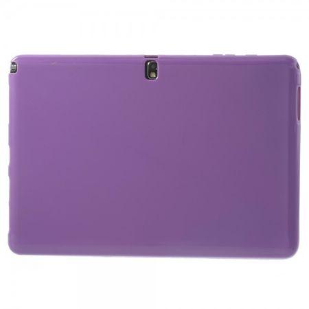Samsung Galaxy Note Pro 12.2 (P900/P905) Elastisches, mattes Plastik Case - purpur