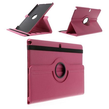 Samsung Galaxy Note Pro/Tab Pro 12.2 (P900/T900) Leder Case mit Litchimuster - rosa