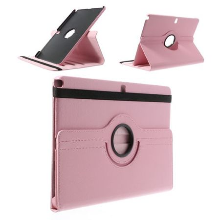 Samsung Galaxy Note Pro/Tab Pro 12.2 (P900/T900) Leder Case mit Litchimuster - pink