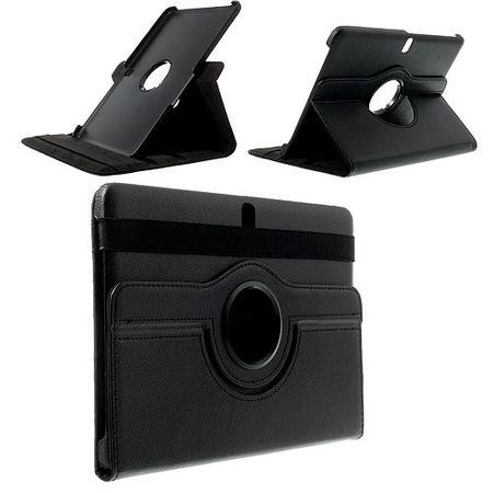Samsung Galaxy Tab Pro 10.1 (T520/T525) Leder Case mit Litchimuster - schwarz