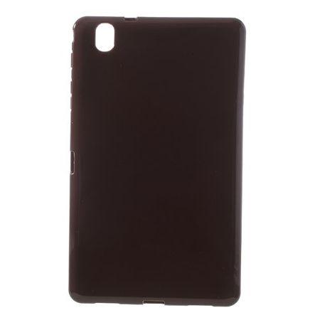 Samsung Galaxy Tab Pro 8.4 (T230/T231/T235) Elastisches, glänzendes Plastik Case - braun