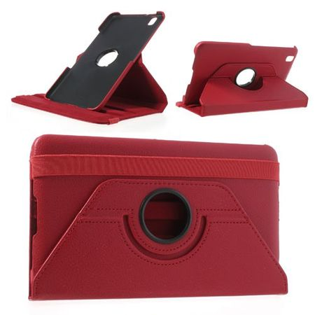 Samsung Galaxy Tab Pro 8.4 (T320/T321/T325) Leder Case mit Litchimuster - rot
