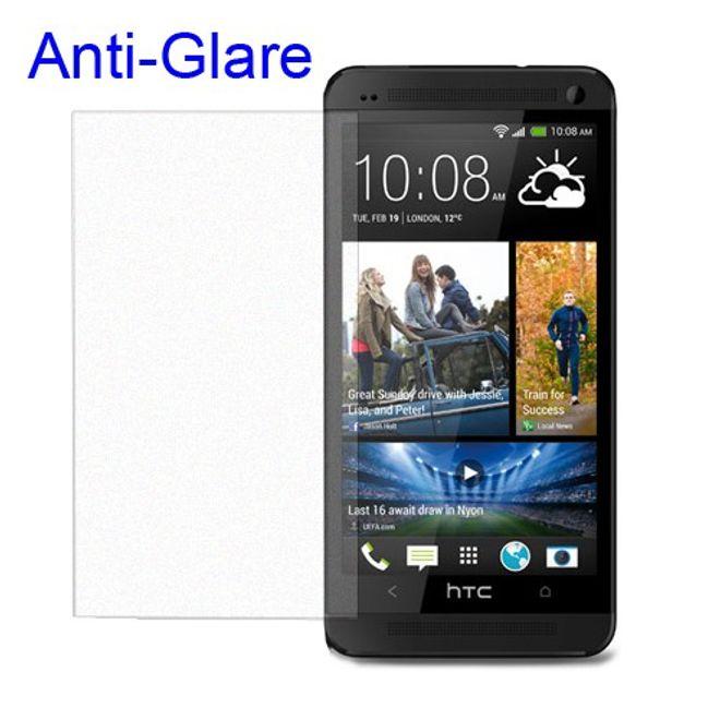 MU Budget HTC One Mini Schutzfolie mit Blendschutz