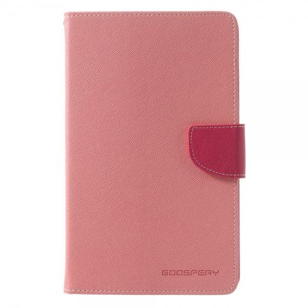 Mercury Goospery - Samsung Galaxy Tab 3 7.0 Lite (T110) Hülle - Tablet Bookcover - Fancy Diary Series - rosa/pink