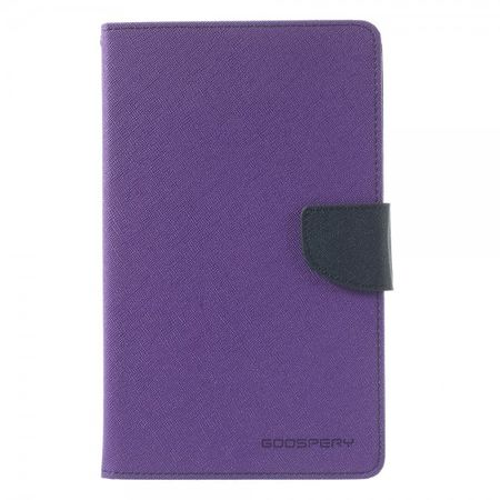 Mercury Goospery - Samsung Galaxy Tab 3 7.0 Lite (T110) Hülle - Tablet Bookcover - Fancy Diary Series - purpur/navy