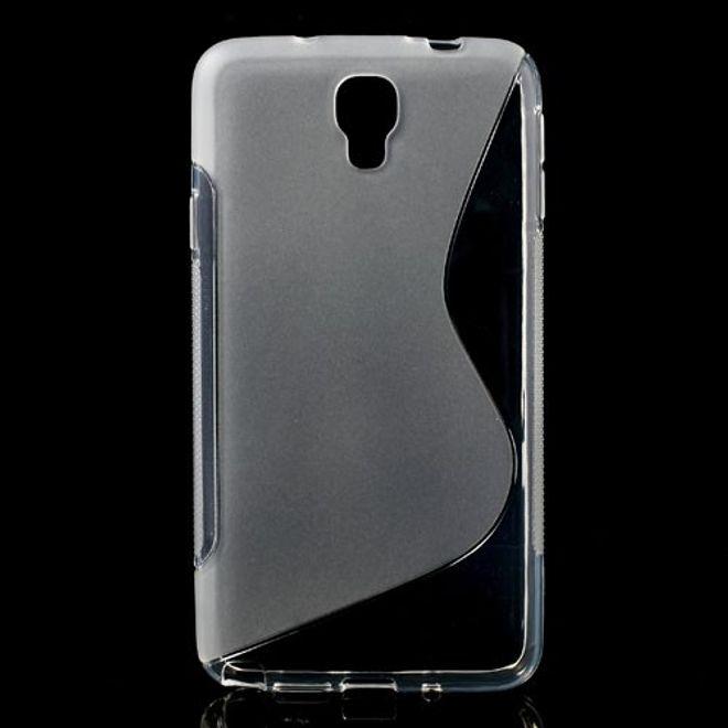 Samsung Galaxy Note 3 Lite/Neo Elastisches Plastik Case S-Curve - transparent