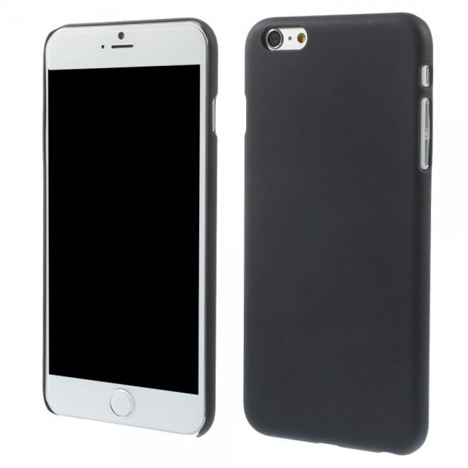 iPhone 6 Plus/6S Plus Gummiertes Hart Plastik Case - grau