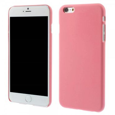 iPhone 6 Plus/6S Plus Gummiertes Hart Plastik Case - rosa