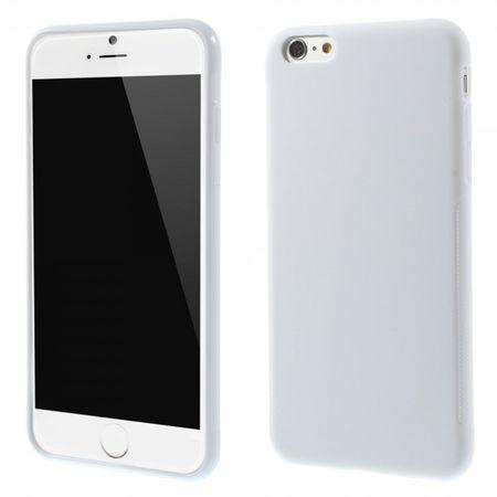 iPhone 6 Plus/6S Plus Elastisches Anti-Rutsch Plastik Case - weiss