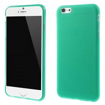 iPhone 6 Plus/6S Plus Elastisches Anti-Rutsch Plastik Case - grün