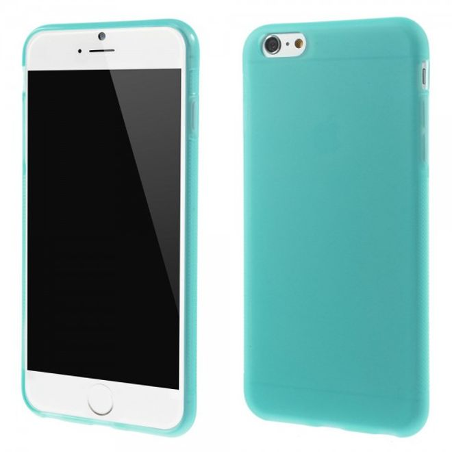 MU Classic iPhone 6 Plus/6S Plus Elastisches Anti-Rutsch Plastik Case - blau
