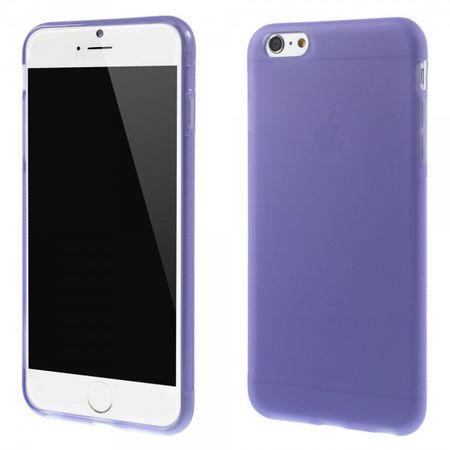 iPhone 6 Plus/6S Plus Elastisches Anti-Rutsch Plastik Case - hellpurpur