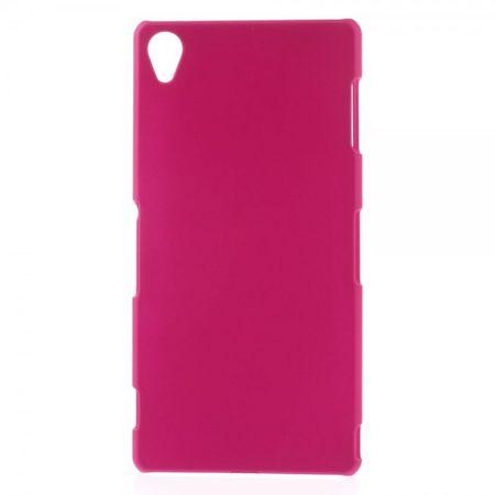 Sony Xperia Z3 Gummiertes Plastik Case - rosa