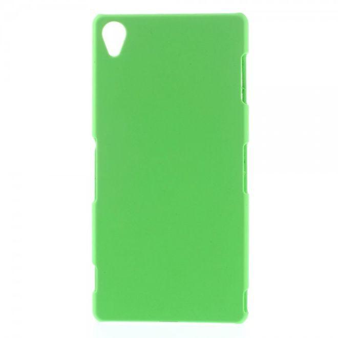 Sony Xperia Z3 Gummiertes Plastik Case - grün