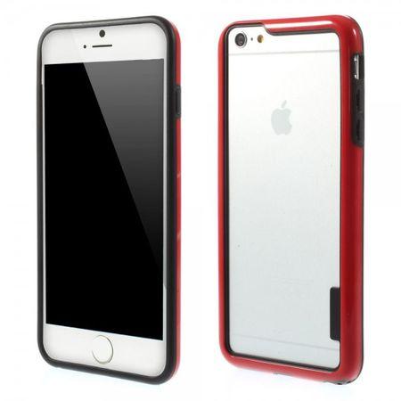 iPhone 6 Plus/6S Plus Elastischer Plastik Bumper - rot