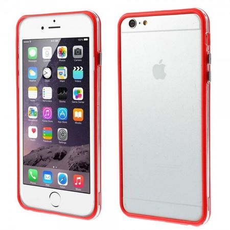 iPhone 6 Plus/6S Plus Flexibles Plastik Bumper Case - rot