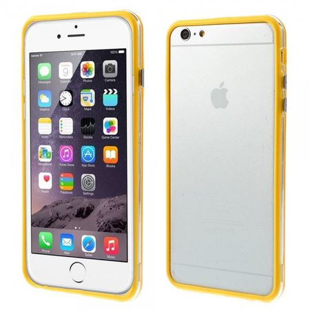 iPhone 6 Plus/6S Plus Flexibles Plastik Bumper Case - gelb