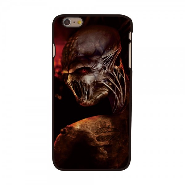iPhone 6 Plus/6S Plus Hart Plastik Case mit Totenkopfmonster