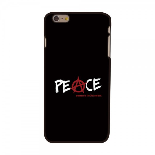 iPhone 6 Plus/6S Plus Hart Plastik Case mit Peace Zeichen