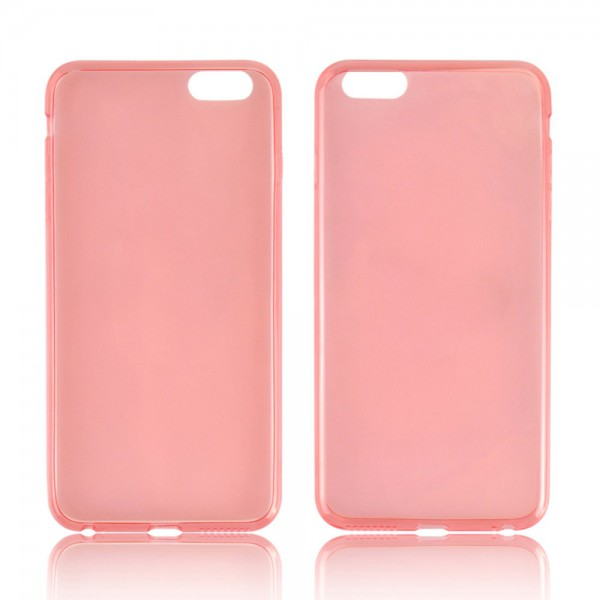 iPhone 6 Plus/6S Plus Ultradünnes (0.45mm), flexibles Plastik Case - rot