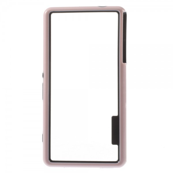 Sony Xperia Z3 Compact Plastik Bumper - pink