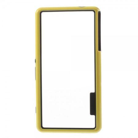 Sony Xperia Z3 Compact Plastik Bumper - gelb