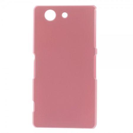 Sony Xperia Z3 Compact Schlichtes Hart Plastik Case - pink