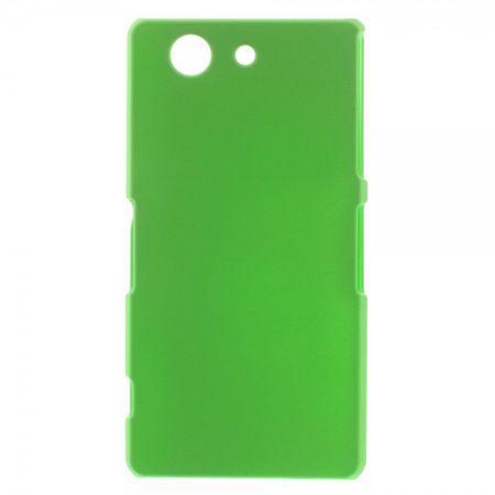 Sony Xperia Z3 Compact Schlichtes Hart Plastik Case - grün