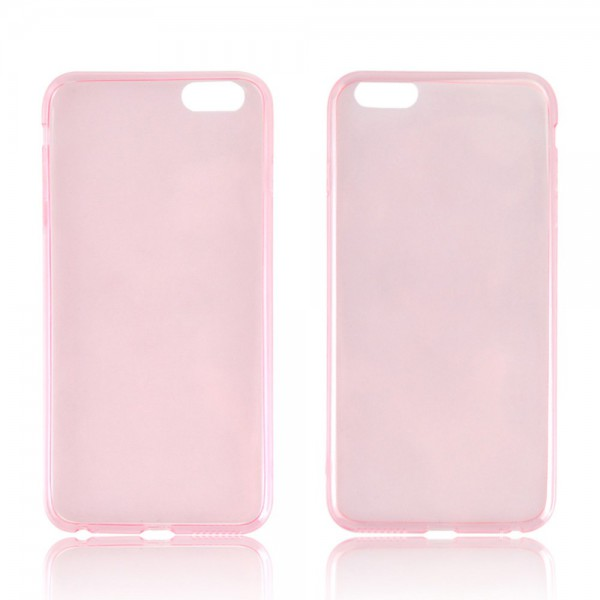 iPhone 6 Plus/6S Plus Ultradünnes (0.45mm), flexibles Plastik Case - pink