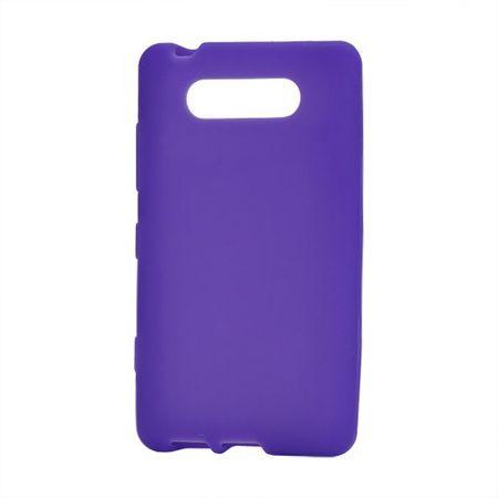 Nokia Lumia 820 Elastisches Silikon Case - purpur