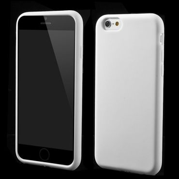 iPhone 6/6S Weiches Silikon Case - weiss