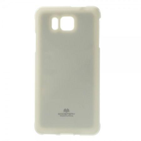 Samsung Galaxy Alpha Glitzerndes Mercury Plastik Case  - weiss