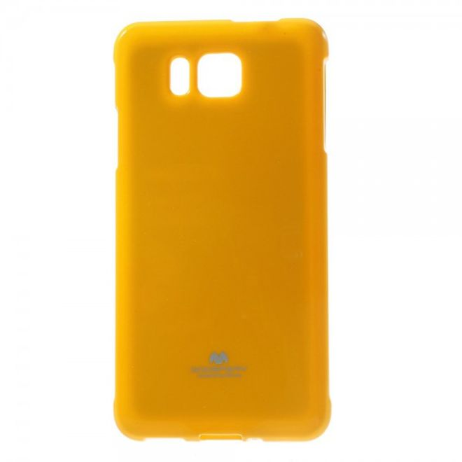 Goospery Samsung Galaxy Alpha Glitzerndes Mercury Plastik Case  - orange