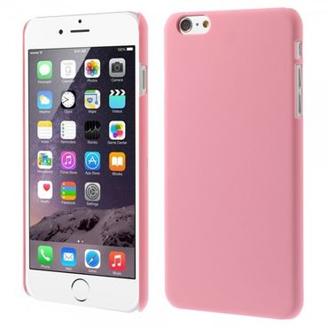 iPhone 6 Plus/6S Plus Gummiertes Hart Plastik Case - pink