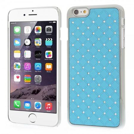 iPhone 6 Plus/6S Plus Hart Plastik Case mit Sternenhimmel - hellblau