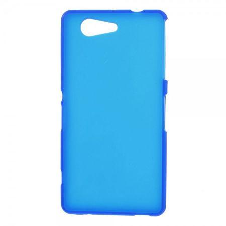 Sony Xperia Z3 Compact Elastisches, weiches Plastik Case - blau